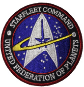 Star Trek TNG STARFLEET COMMAND United Federation of Planets - By Patch Squad