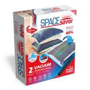 SpaceSaver Premium Jumbo Vacuum Storage Bags (80% More Storage Than Leading Brands) Free Hand Pump For Travel!