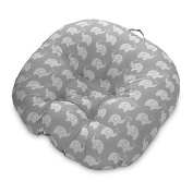 Boppy® Newborn Elephant Lounger in Grey, For infants up to 7.3kg.