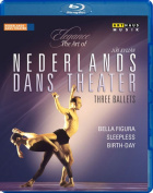 Three Ballets [Region A] [Blu-ray]
