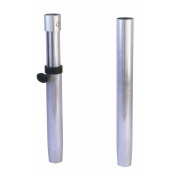 Garelick/Eez-In 75446:01 Ribbed 5.1cm - 2.2cm Fixed Height Stanchion Post - 70cm
