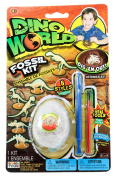 Dino World Fossil Kit With Real Tools, 1-Pack