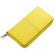 Sweetmeet Women's Long Wallet Purse Soft Genuine Leather Organiser Coin Clutch Card Holder Fit Iphone