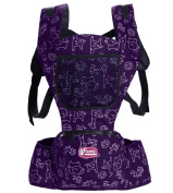 Glield Hip Seat Ergonomic Baby Carrier Front and Back Baby Carrier with Waist Stool ETBD01