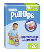 Huggies Pull-Ups Learning 26 Nappies Size 4/M Boys - Set of 2