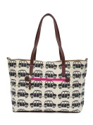Pink Lining Notting Hill Tote Black Cabs Changing Bag