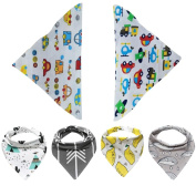 Baby Bibs,Clode® Baby Kids Bandana Bibs Set-6 Pack Feeding Saliva Towel Triangle Waterproof