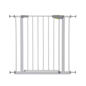 Hauck Türschutzgitter Safety Gate Squeeze Handle Safety Gate (75 - 81 cm) White