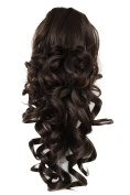 PRETTYSHOP 50cm Hair Piece Pony Tail Extension Voluminous Curly Or Wavy Heat-Resisting Colour Variation H203