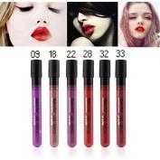 Magical Halo Long Lasting Lip Gloss Matte Lip Tattoo Lipgloss Waterproof Pigment Brand Makeup Lip Glaze Plum