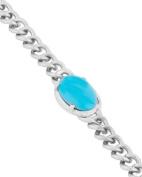 Salman Khan's Inspired Stunning Hand Made Turquoise Stone Studded Men's Bracelet