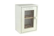 New Finish Wooden Cream Egg Cabinet Kitchen 12 Egg Storage Organiser Tray Cabniet