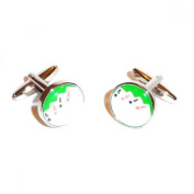 Mens Shirt Accessories - 4 Aces Picture Cufflinks (With Black Presentation Box) - Novelty Casino Theme Jewellery