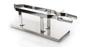Ham Stand Clamped Stainless Steel Steelblade | Professional Spanish Ham Holder