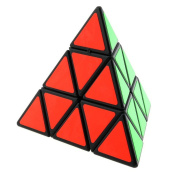 Gresorth Pyraminx Magic Cube Puzzle Twist Rubiks Cube Sticker Educational Toys Games for Kids