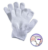 BEAUTY SPA FACE FACIAL SKIN CARE BODY CLEANSING EXFOLIATING INVIGORATING GLOVES