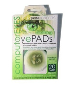 Skin Benefits - Computer Eyes - Cool Cucumber Eye Pads
