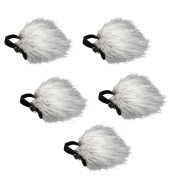 Movo WS10n Universal Furry Outdoor Microphone Windscreen Muff for All Lavalier Microphones Including Movo, Shure, Rode, Sony, Audio-Technica & More!