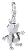 Peppa Pig Jewellery Sterling Silver Peppa Pig Clip On Charm