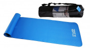 ResultSport® Yogo Mat - Non Slip with Carry Case - 183cm X 61cm X 1cm (10mm) Thick - Exercise Mats - Perfect for Yoga , Pilates , Gym