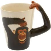 Monkey/Chimp Handle Tea/Coffee Mug - Cheeky Monkey Mug