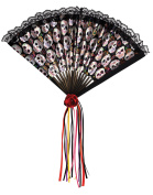 Amscan International Adults Day Of The Dead Fan Fashion