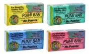 LOT of 6 Mr. Pumice Bar Healthy Skin Callus Feet Elbow Hands Pumi Bar Sponge