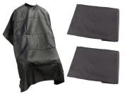TMS® LOT 3~Salon Barber Hairdressing Gown Styling Cutting Hair Cape Cloth Wholesale