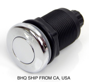 Universal High Quality Chrome Air Push Button / Switch For Pedicure Spa Chair
