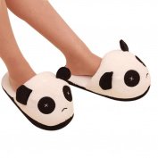 Sunward Home Indoor Slipper, Cute Panda Warm Plush Antiskid Slipper Shoes