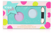 Klee Girls All Natural Mineral Eyeshadow Duo - Key West Splash, Rainier Blossom