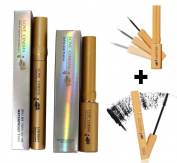 [Love Cinema] Soft and clear Eyeliner Black 7ml & Curl & Volume-up Mascara 7ml / Korean Cosmetics