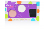 Klee Girls All Natural Mineral Blush and Illuminator Duo - Laguna Wink, Whistler Sparkles