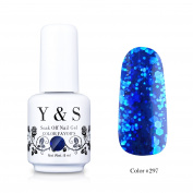 Yaoshun Gelpolish, Soak-off (Gel Nail Polish) UV LED Nail Art/Beauty Care 8ml -#297