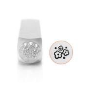 ImpressArt- Multi Flower Texture Design Stamp, 6mm