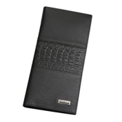 Morecome Bifold Wallet Men Leather Credit/ID Card Holder Billfold Purse Long Wallet