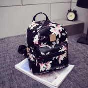 Morecome Women Backpack Fashion Causal Floral Printing Leather Bag