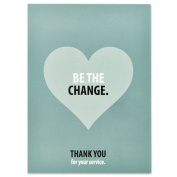 Be The Change Presentation Card - Pack of 25
