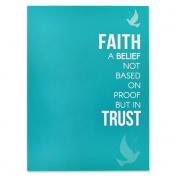 Faith and Trust Presentation Card - Pack of 25