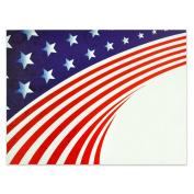 Patriotic Presentation Card - Pack of 25