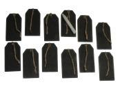 Black Chalkboard Tags and Soapstone Chalk Pencil Bundle Set