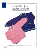 Design by Louise Knitting Pattern #4 Infant & Toddler's Cardigan & Pullover