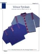 Design by Louise Knitting Pattern #13 Winsor Tyrolean