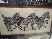 Zebras Counted Cross Stitch Kit #5609 By Ken Lilly