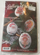 Victorian Christmas Bucilla Gallery of Stitches Cross Stitch Ornaments Kit 33522