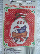 Joy Counted Cross Stitch Ornament Kit