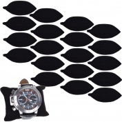 BCP 20-pieces Velvet Small Bracelet /Watch Pillow Jewellery Displays