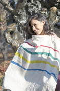 Galileo Linens Hand-Painted Linen Nursing Cover