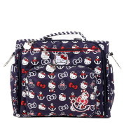 Ju-Ju-Be for Hello Kitty B.F.F. Nappy Bag in Out to Sea Print