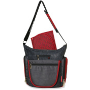 Fisher Price Fastfinder Quick Trip Tote Nappy Bag - Red